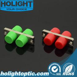Adaptateur métal FC pour fibre optique duplex