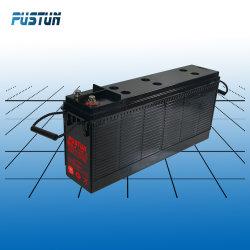 Свинцово-кислотный аккумулятор передней клеммой 12V 75AH не нуждается в обслуживании