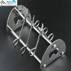 Les soins dentaires Orthodontie Instruments pince en acier inoxydable plaçant Stand