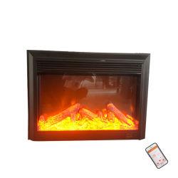 29インチ1500Wの黒い壁に取り付けられた熱くする電気暖炉(EMP-002)