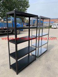 Hot Sale Bon Prix Poids léger haute capacité de charge des produits en acier Boleless étagère rayonnage étagère d'angle fendu (T43)