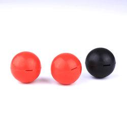 A moldagem de precisão para pequenas peças de plástico NBR disco preto sólido de borracha de silicone bola