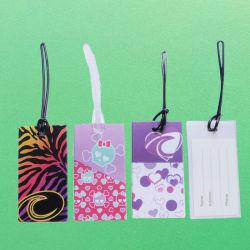 Modifiche di plastica del contrassegno del supporto di indirizzo di nome del sacchetto di corsa del bagaglio della valigia dei bagagli
