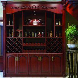 European Home Meubles Meubles en bois massif armoire à vin/Wine Rack (YH-WC2001)