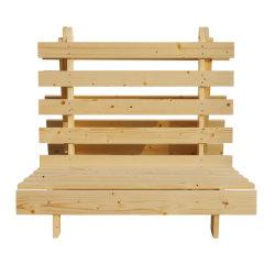 Base piegante di colore del pino di Bedroomfurniture della base moderna bianca di legno materiale della mobilia