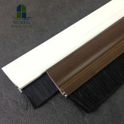 문 바닥 솔 문풍지를 위한 알루미늄 금속 솔 지구
