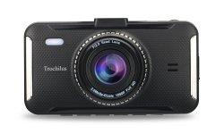 4 pulgadas de pantalla Ntk 96658 Coche de seguridad de la cámara digital de vídeo coche DVR de doble lente leva Dash