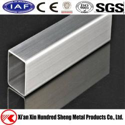 SS304 316 carré inox 316L/Tubes rectangulaires Tubes soudés en acier inoxydable