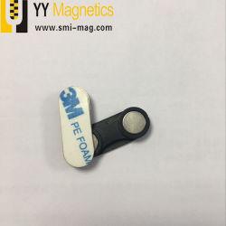 Étiquette de nom d'aimants NdFeB insigne fixation magnétique
