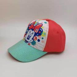 Minnie Blingblingのきらめきのビルのバイザーの子供の女の子の野球帽BSCIの専門のヘッド摩耗の工場