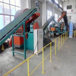Equipamento de reciclagem de borracha de pneu radial/pneu usado sucata máquina de pirólise