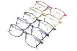 Vender Super Ligero de la mitad de la fábrica de acero de plástico Nuevo Diseño de Moda Gafas Anteojos ópticos marcos