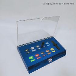 La fábrica de acrílico de cigarrillo electrónico personalizado de la pantalla de la encimera