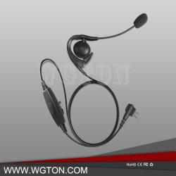 Две радиостанции аксессуары для наушников с микрофоном и стрелы малых петличный стереомикрофон с использованием функции PTT DTR620