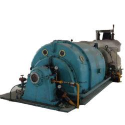 증기 터빈과 뽑아내는 압축 증기 터빈 후에 양수