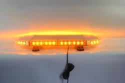 LED Veículo automóvel de sinalização de emergência na barra de luz estroboscópica perigo a Lâmpada de Advertência Âmbar