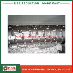Gewölbte Rohr-Textil-Kleidungs-lederne zerreißende Zerkleinerungsmaschine für die Plastikwiederverwertung