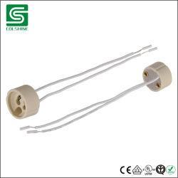 Toma de halógeno GU10 con cable de silicona