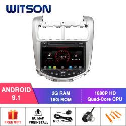 De vierling-Kern van Witson Androïde GPS van de 9.1 Auto DVD voor het Geheugen van de RAM van Chevrolet Aveo 2g DDR3