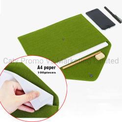 Dispositivo di piegatura di archivio Pocket ecologico del documento del feltro A4 del poliestere (FIC012)