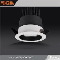 White Silver Black mur Plafond de rafles de lumière LED haute puissance 25W-40W Downlight Led