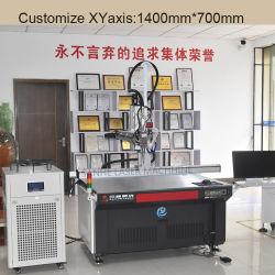 Continua 1kw soldador de fibra láser automático para soldadura de metal