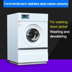 Minitype vollautomatischer kundenspezifischer Halb-Rostfreier Stahlhandelswäscherei-Trockner/Trockenreinigung/Unterlegscheibe-Zange/industrielle Waschmaschine für Hotel/Krankenhaus