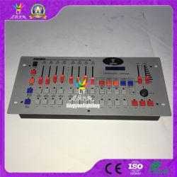 512 장치 DJ는 가벼운 DMX 관제사를 상연한다