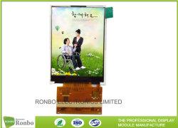 Kundenspezifischer widerstrebender Bildschirm der Noten-TFT LCD 2.4 Zoll Qvga 240*320 MCU 16bit Schnittstelle