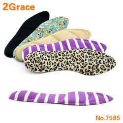 Los tacones de la mujer el alivio del dolor Insertar taco de espuma esponja 4D Zapato suela blanda cuidado de los pies