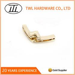 La lumière de l'or flip lock de gros de tourner le verrou pour sac/sac à main blocage en métal