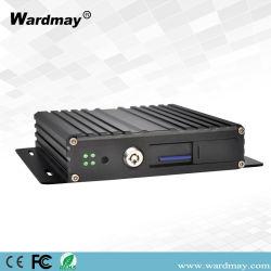 H. 264 4chs 720p HD Mdvr van Wardmay Ltd Facultatieve Steun 3/4G GPS/WiFi