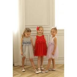 Die Kind-Abnützung-Kinder, die Mädchen der Prinzessin-Blume kleiden, kleidet Partei-Kleid für Baby-kleine Mädchen