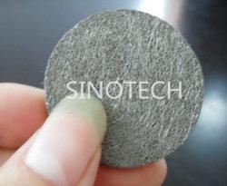 Quadrato e prodotto sinterizzato rotondo della fibra dell'acciaio inossidabile