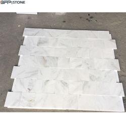 ثلم [شنس] بيضاء غرفة حمّام جدار قرميد رخام مع [1كم] سماكة