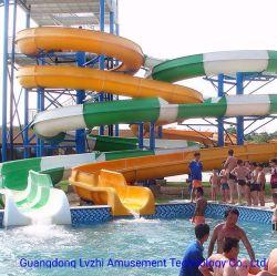水公園装置のガラス繊維開いた螺線形水スライド(WS-099)