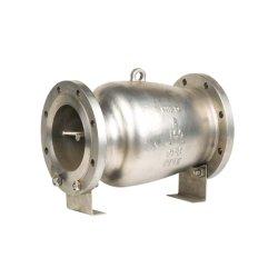 Aço inoxidável Non-Slam ANSI da válvula de retenção do bico