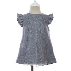 Une ligne Toddler Mini Bébé Vêtements spéciaux formelle de la Chine de la Fabrication de robes