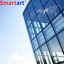 Frameless Glaszwischenwand mit Glasarmkreuz-Aluminiumglasfassade