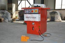 De Siecc Vaste Plaat die van het Metaal van de Hoek de Hoek inkerven die van Notcher van de Machine de Inkeping 6X200 inkerven van Fr van de Machine