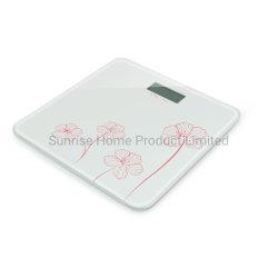 Personal Digital electrónica Báscula de plataforma con cristal templado (SBE201)