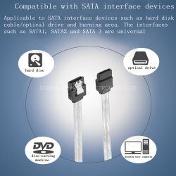Harde schijf 3.0 SATA Data Cable 6gbps Transmission