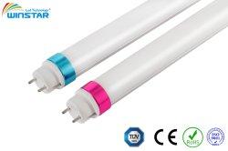 Sin parpadeos de aluminio Nuevo diseño de la luz del tubo LED T8, 100lm/W a 180lm/W, TUV aprobado, 5 años de garantía