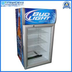Comercial favorito bebida refrigerados vitrina