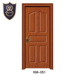 La posición de Interior de la superficie acabada a ras accesorio de cristal puerta de madera