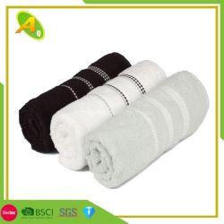 Gesichts-Tuch der Faser-100%Bamboo von China-Fabrik-Großverkauf-Baumwollweiße Farbe gesticktem Tuch 100% (26)