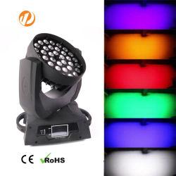 36*18W RGBWA UV6in1 LED Disco/DJ/Club bewegliches Hauptstadiums-Licht
