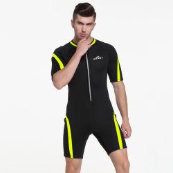 Men's 2mm combinaison néoprène costume de surf plongée Snorkeling court Wetsuit