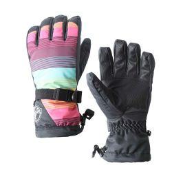 Mens imperméable doublure Thinsulate PU Gants de ski en hiver en cuir