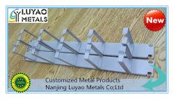 고속 펀칭 기계에 스탬프로 찍힌 알루미늄/강철 브래킷